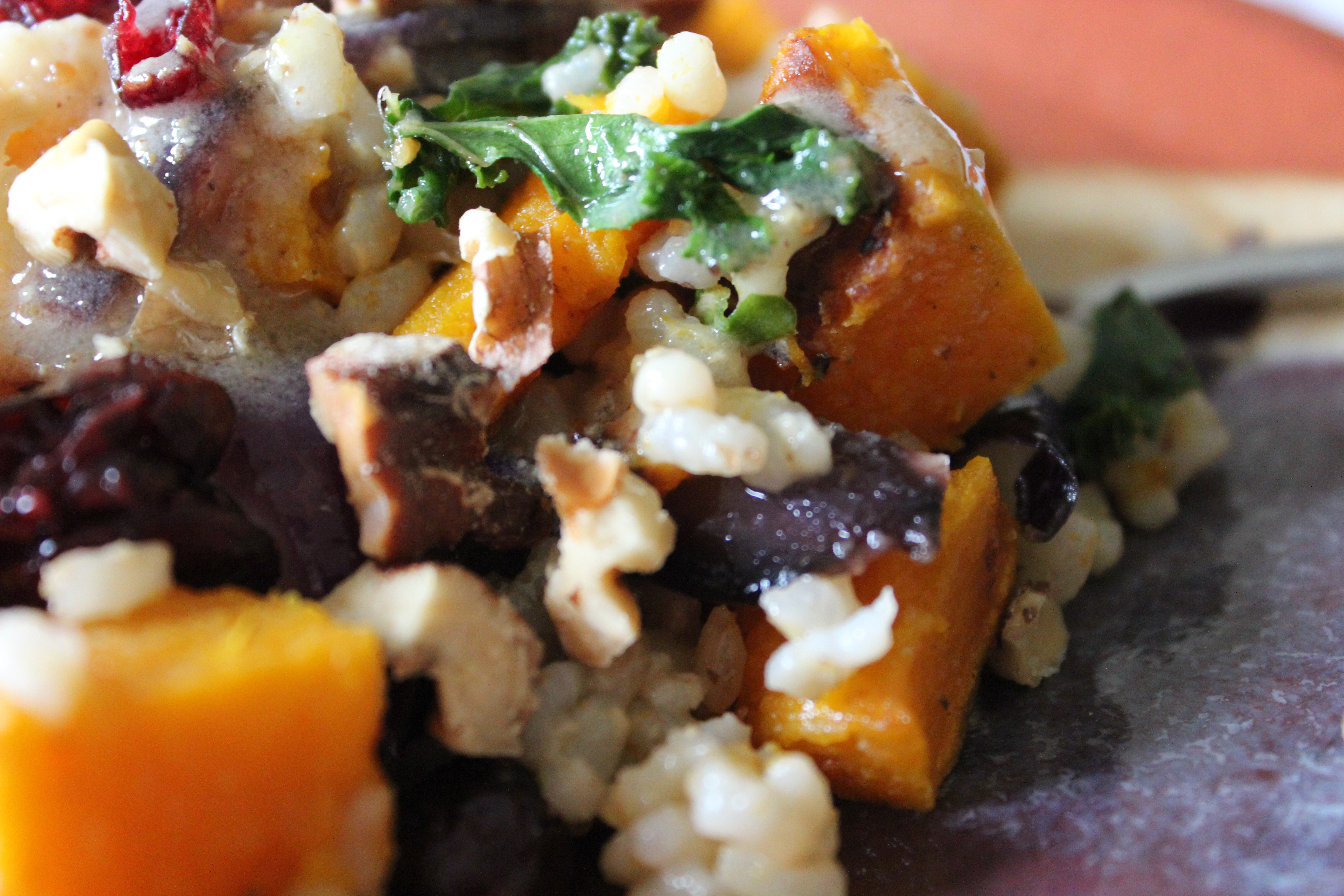 Winter Squash with Rice & Caramelized Onions | The Joyful Pantry