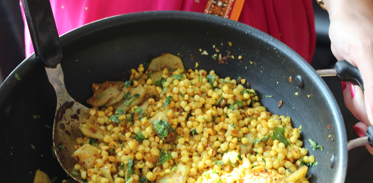 Sabudana: Tapioca Curry