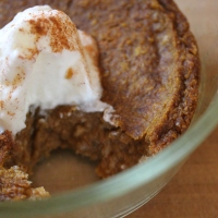 Pumpkin Pie Breakfast Pudding