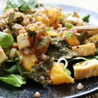 Asian Buckwheat Salad with Oranges