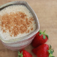Lightly Spiced Oatmeal Smoothie